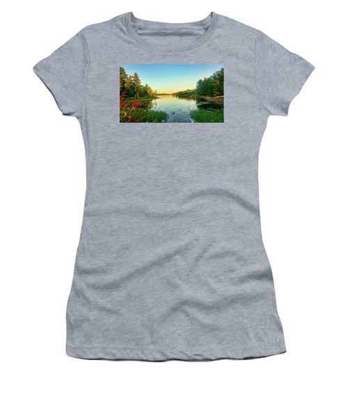 Northern Ontario Lake Women's T-Shirt
