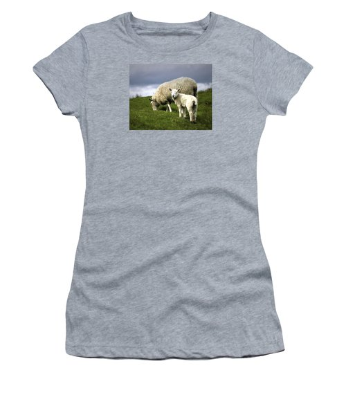 Northumberland Lamb Women's T-Shirt (Athletic Fit)
