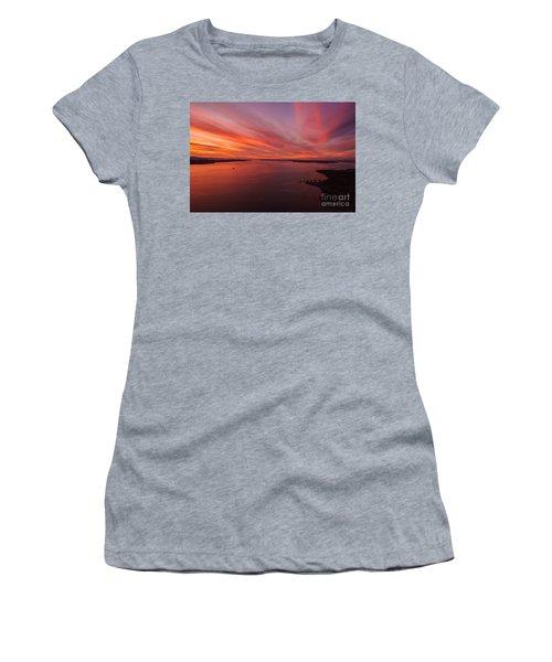 Northwest Searing Sunset Palette Women's T-Shirt