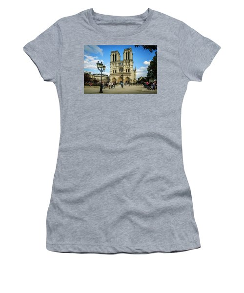 Notre Dame Cathedral Women's T-Shirt
