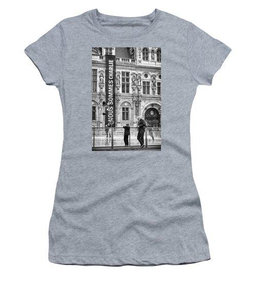 Nous Sommes Charlie Women's T-Shirt