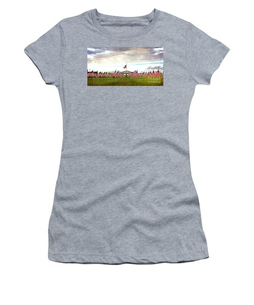Nov5th Memorial - No.2009 Women's T-Shirt (Athletic Fit)