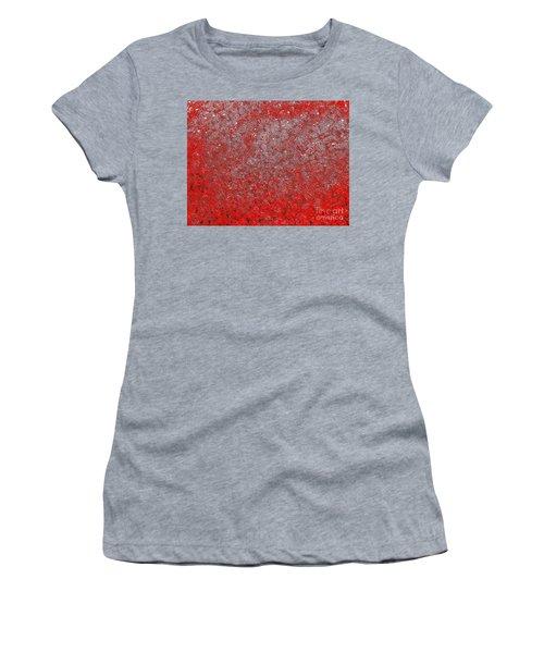 Now It's Red Women's T-Shirt (Junior Cut) by Rachel Hannah