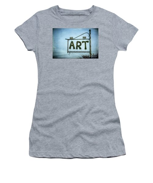 Now This Is Art Women's T-Shirt (Athletic Fit)