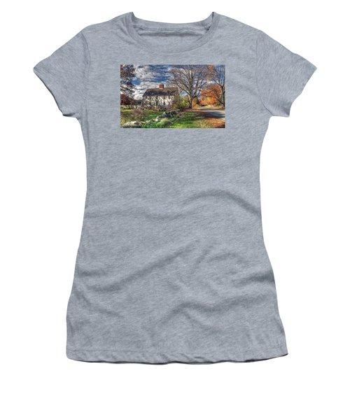 Noyes House In Autumn Women's T-Shirt