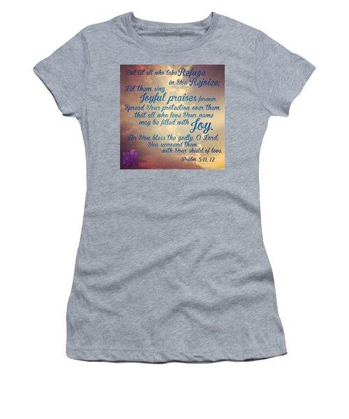 O Lord, Hear Me As I Pray;  Pay Women's T-Shirt
