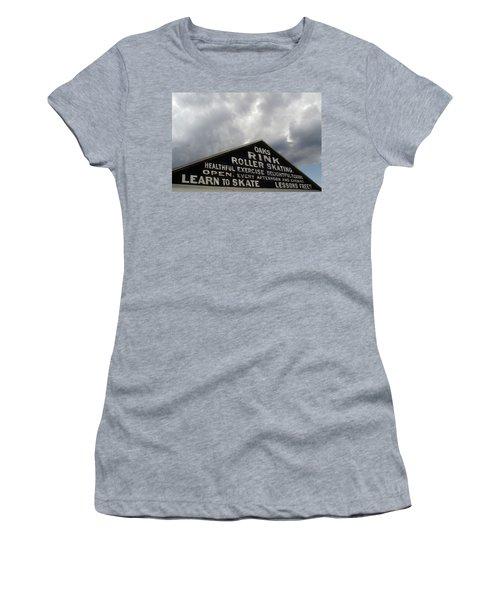 Oaks Skating Rink Women's T-Shirt