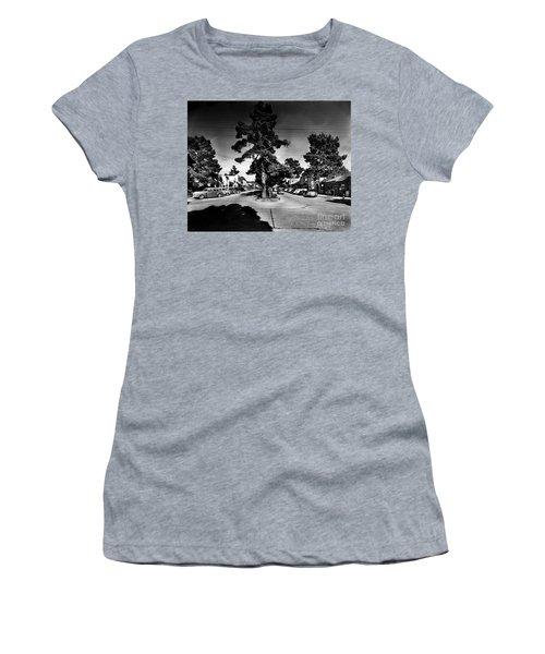 Ocean Avenue At Lincoln St - Carmel-by-the-sea, Ca Cirrca 1941 Women's T-Shirt