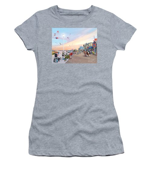 Ocean City Maryland Women's T-Shirt (Athletic Fit)