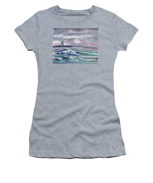 Oceans Of Color Women's T-Shirt (Athletic Fit)