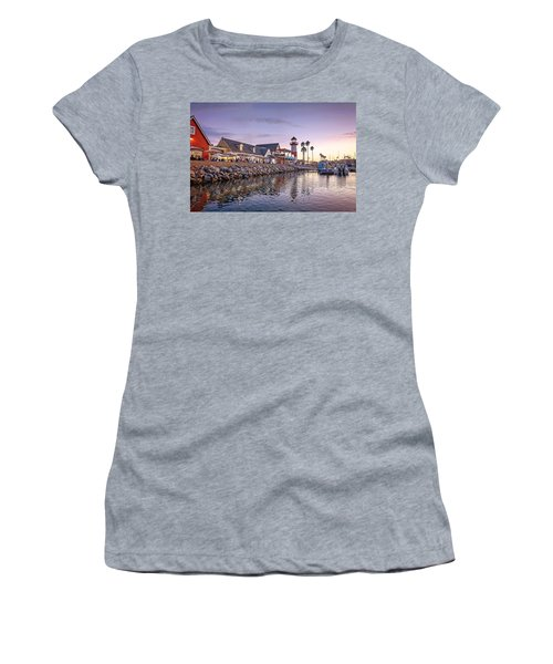 Oceanside Harbor Women's T-Shirt (Athletic Fit)