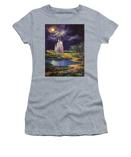 Of Glass Castles And Moonlight Women's T-Shirt