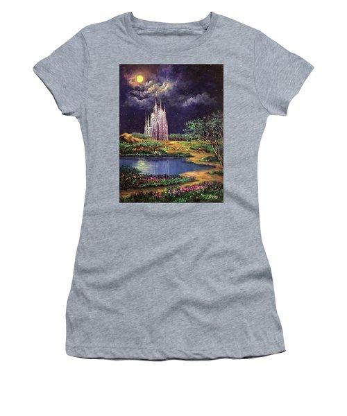 Of Glass Castles And Moonlight Women's T-Shirt