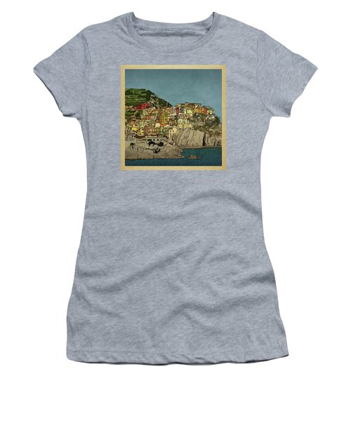 Of Houses And Hills Women's T-Shirt (Athletic Fit)