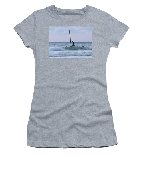 Off Fishing Women's T-Shirt (Athletic Fit)