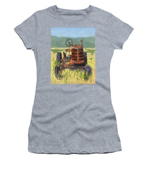 Offset High Crop Women's T-Shirt