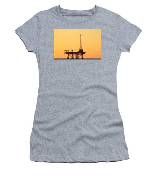 Offshore Oil And Gas Platform  Women's T-Shirt