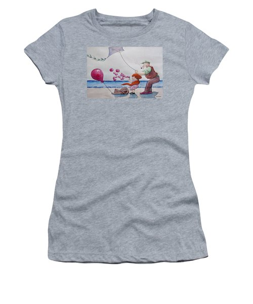 Oh My Bubbles Women's T-Shirt (Athletic Fit)