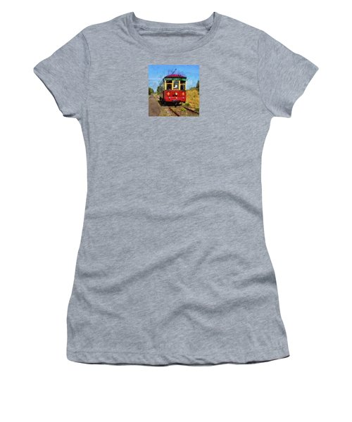 Women's T-Shirt featuring the photograph Old 300 by Thom Zehrfeld