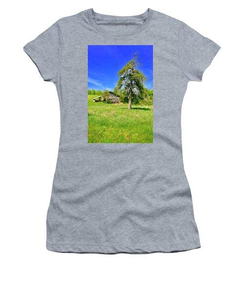 Old Barn, Smith Mountain Lake Women's T-Shirt