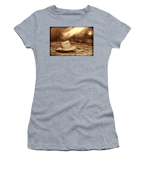 Old Farmer Hat And Rope Women's T-Shirt