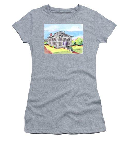 Old Hunt Hospital Women's T-Shirt (Junior Cut) by Paul Meinerth