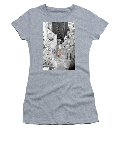 Old State House Women's T-Shirt (Junior Cut) by Greg Fortier