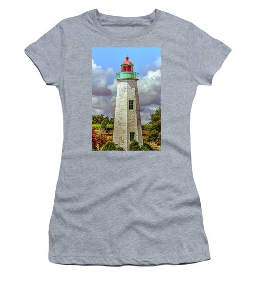Old Point Comfort Lighthouse Women's T-Shirt (Athletic Fit)