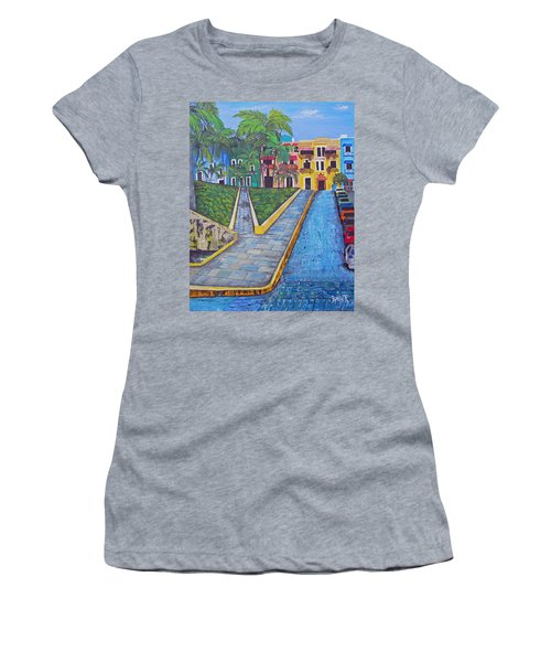 Old San Juan Women's T-Shirt (Athletic Fit)