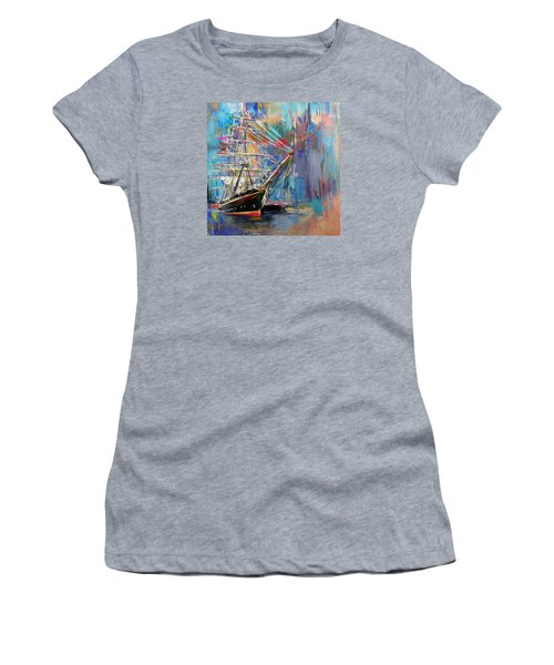 Old Ship 226 1 Women's T-Shirt (Junior Cut) by Mawra Tahreem