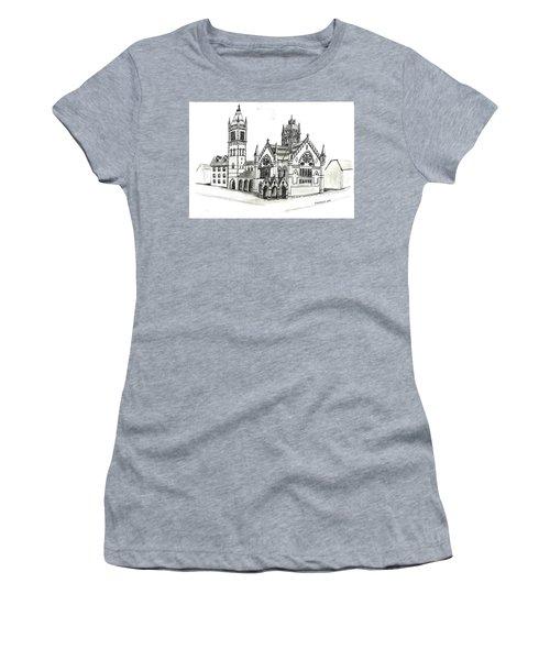 Old South Church - Bosotn Women's T-Shirt (Junior Cut) by Paul Meinerth