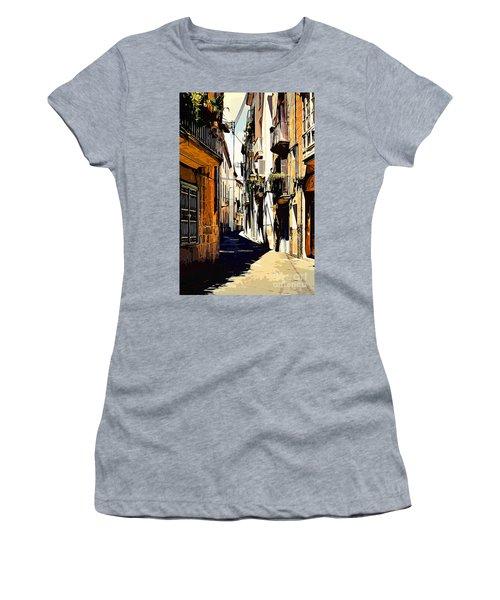 Old Spanish Street Women's T-Shirt