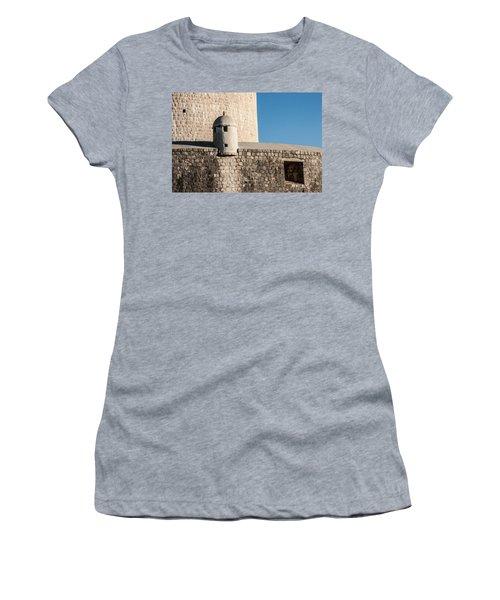 Old Town Dubrovnik Women's T-Shirt (Junior Cut) by Silvia Bruno