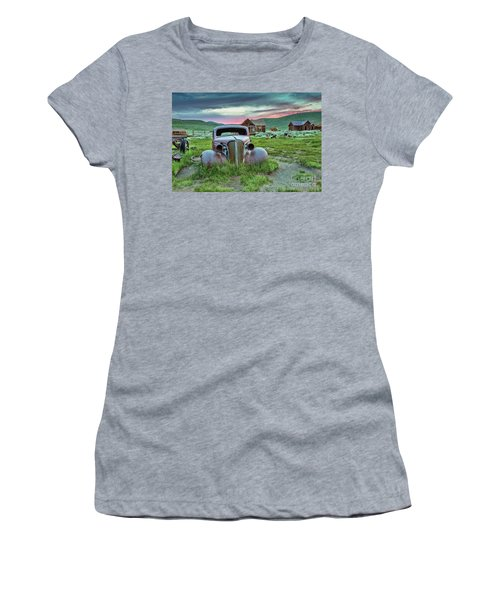 Old Truck In Bodie Women's T-Shirt (Athletic Fit)