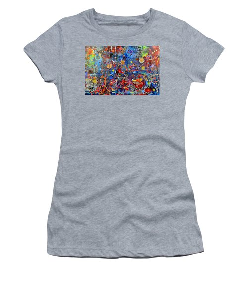 On A Chip Women's T-Shirt (Athletic Fit)