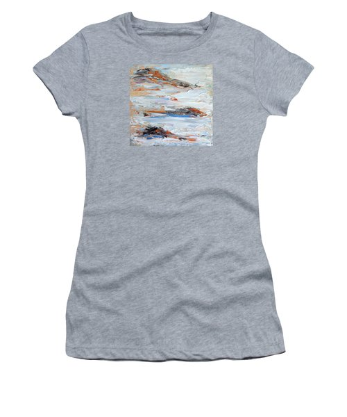 On Da Rocks Women's T-Shirt (Athletic Fit)