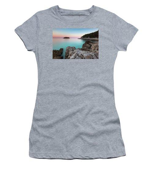 On The Beach In Dawn Women's T-Shirt