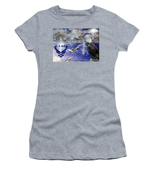 On The Rise Two Women's T-Shirt (Athletic Fit)
