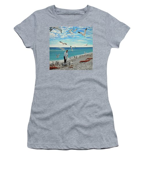 On The Sabbath Women's T-Shirt (Athletic Fit)