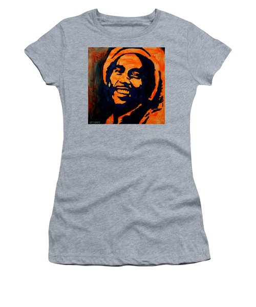 Women's T-Shirt featuring the painting One Love by Blake Emory