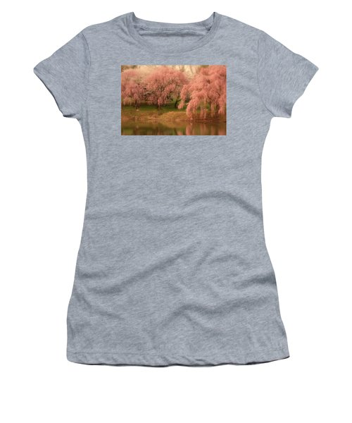 Women's T-Shirt featuring the photograph One Spring Day - Holmdel Park by Angie Tirado