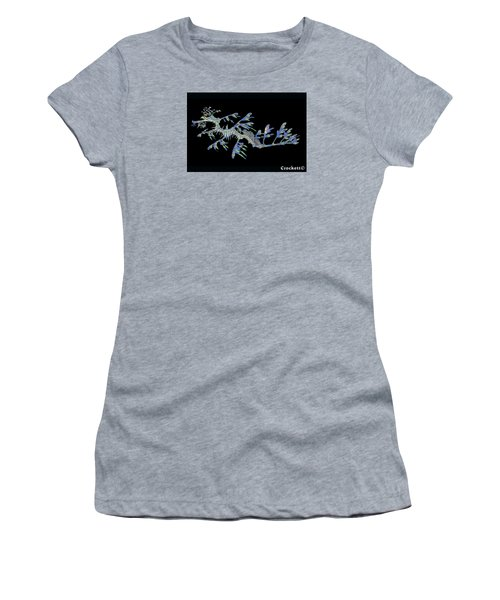 Opalised Sea Dragon Women's T-Shirt (Athletic Fit)