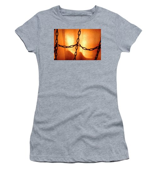 Orange With Black Chains In Seattle Washington Women's T-Shirt
