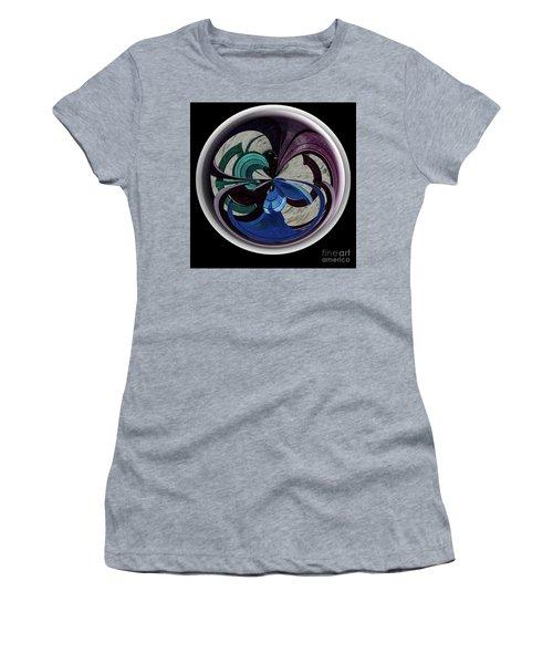 Orb Lineup Women's T-Shirt (Junior Cut) by Judy Wolinsky