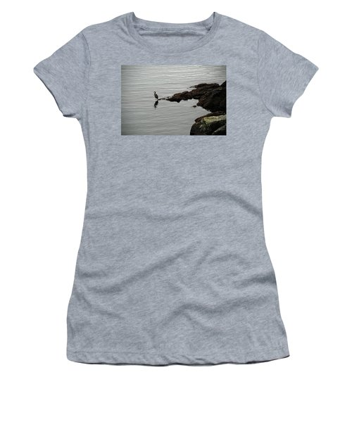 Orcas Island Bird  Women's T-Shirt (Athletic Fit)