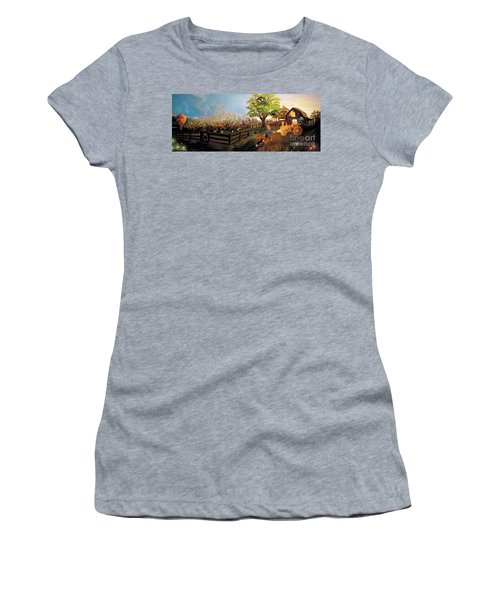 Orchard And Barn Women's T-Shirt (Athletic Fit)