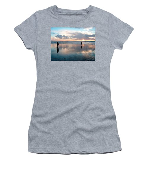 Oregon Coast 7 Women's T-Shirt (Athletic Fit)