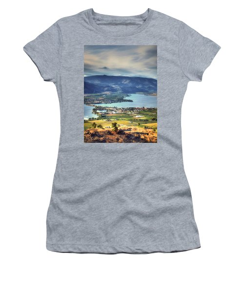 Osoyoos Lake 2 Women's T-Shirt (Athletic Fit)