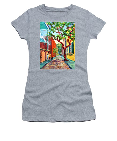 Out And About Women's T-Shirt (Athletic Fit)