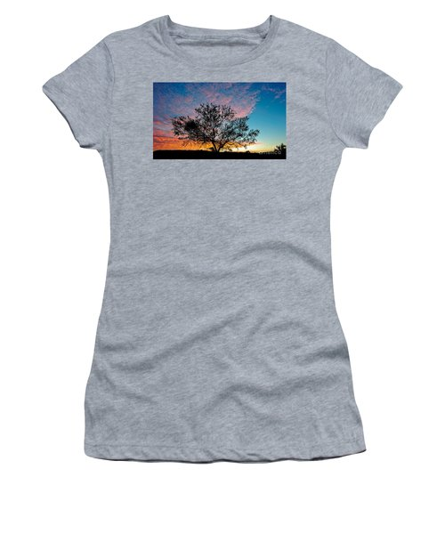 Outback Sunset Pano Women's T-Shirt